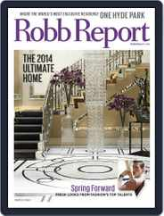 Robb Report (Digital) Subscription March 5th, 2014 Issue