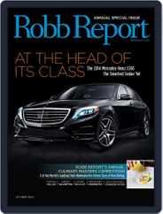 Robb Report (Digital) Subscription October 1st, 2013 Issue