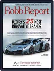 Robb Report (Digital) Subscription August 2nd, 2013 Issue