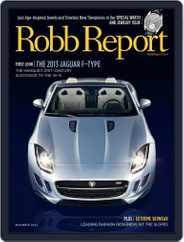 Robb Report (Digital) Subscription November 6th, 2012 Issue