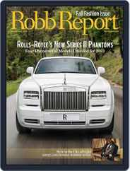Robb Report (Digital) Subscription August 30th, 2012 Issue