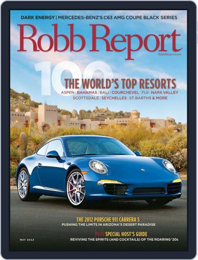 Robb Report (Digital) May 1st, 2012 Issue Cover