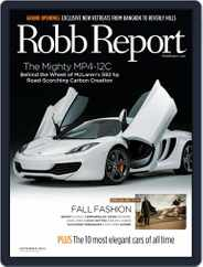 Robb Report (Digital) Subscription August 24th, 2011 Issue