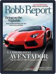 Robb Report (Digital) Subscription July 26th, 2011 Issue