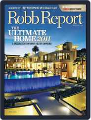 Robb Report (Digital) Subscription March 29th, 2011 Issue