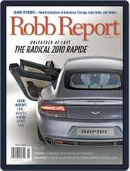 Robb Report (Digital) Subscription March 18th, 2010 Issue