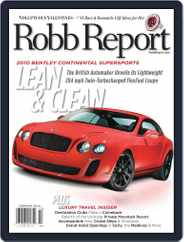 Robb Report (Digital) Subscription January 21st, 2010 Issue
