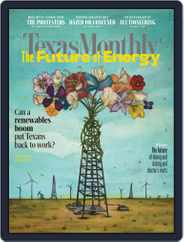 Texas Monthly (Digital) Subscription July 1st, 2020 Issue