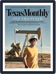 Texas Monthly (Digital) Subscription May 1st, 2020 Issue
