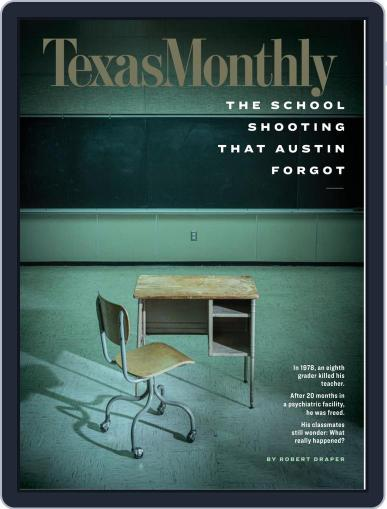 Texas Monthly (Digital) April 1st, 2020 Issue Cover