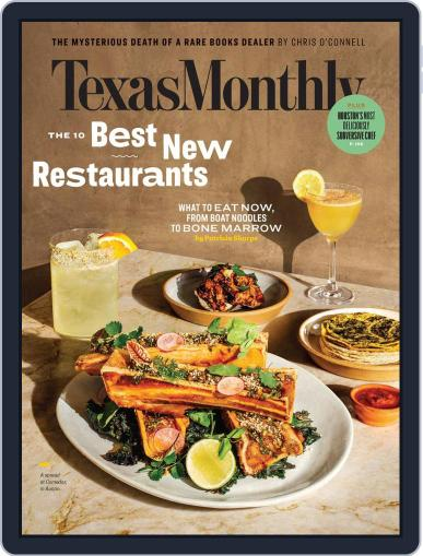 Texas Monthly (Digital) March 1st, 2020 Issue Cover