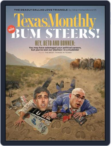 Texas Monthly (Digital) January 1st, 2020 Issue Cover