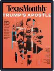 Texas Monthly (Digital) Subscription August 1st, 2019 Issue