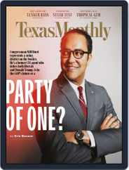 Texas Monthly (Digital) Subscription April 1st, 2019 Issue
