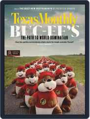 Texas Monthly (Digital) Subscription March 1st, 2019 Issue