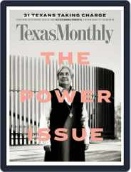Texas Monthly (Digital) Subscription December 1st, 2018 Issue