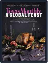 Texas Monthly (Digital) Subscription November 1st, 2018 Issue
