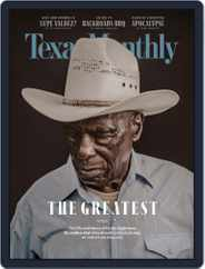 Texas Monthly (Digital) Subscription July 1st, 2018 Issue