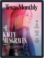 Texas Monthly (Digital) Subscription March 1st, 2018 Issue