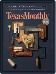 Texas Monthly (Digital) Subscription December 1st, 2017 Issue