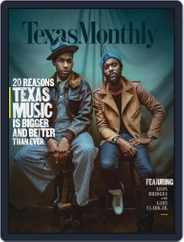 Texas Monthly (Digital) Subscription November 1st, 2017 Issue