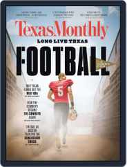 Texas Monthly (Digital) Subscription September 1st, 2017 Issue