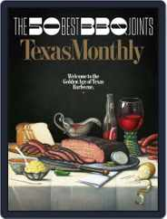 Texas Monthly (Digital) Subscription June 1st, 2017 Issue