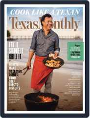 Texas Monthly (Digital) Subscription December 1st, 2016 Issue