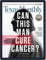 Texas Monthly (Digital) Subscription November 1st, 2016 Issue