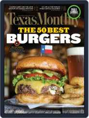 Texas Monthly (Digital) Subscription July 21st, 2016 Issue