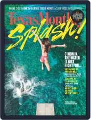 Texas Monthly (Digital) Subscription May 26th, 2016 Issue