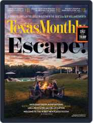 Texas Monthly (Digital) Subscription April 21st, 2016 Issue