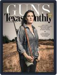 Texas Monthly (Digital) Subscription March 24th, 2016 Issue