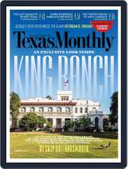 Texas Monthly (Digital) Subscription January 28th, 2016 Issue