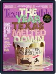 Texas Monthly (Digital) Subscription December 24th, 2015 Issue
