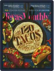 Texas Monthly (Digital) Subscription December 1st, 2015 Issue