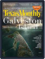 Texas Monthly (Digital) Subscription August 1st, 2015 Issue