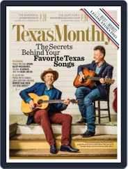 Texas Monthly (Digital) Subscription July 1st, 2015 Issue