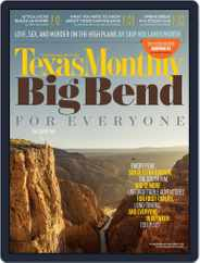 Texas Monthly (Digital) Subscription May 1st, 2015 Issue