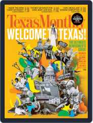 Texas Monthly (Digital) Subscription March 30th, 2015 Issue