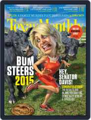 Texas Monthly (Digital) Subscription January 1st, 2015 Issue