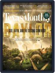 Texas Monthly (Digital) Subscription October 24th, 2014 Issue