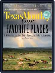 Texas Monthly (Digital) Subscription July 25th, 2014 Issue