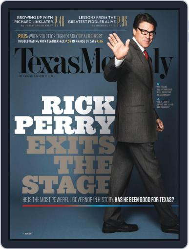 Texas Monthly (Digital) June 20th, 2014 Issue Cover