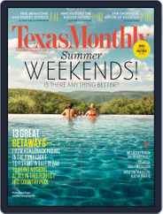 Texas Monthly (Digital) Subscription April 28th, 2014 Issue