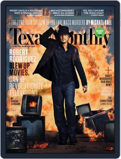 Texas Monthly (Digital) March 21st, 2014 Issue Cover