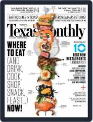 Texas Monthly (Digital) Subscription February 20th, 2014 Issue