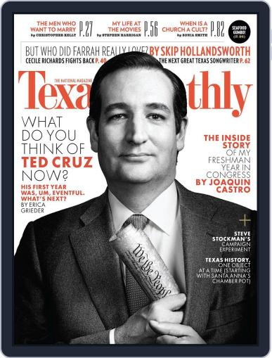 Texas Monthly (Digital) January 24th, 2014 Issue Cover
