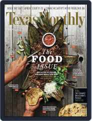 Texas Monthly (Digital) Subscription November 21st, 2013 Issue
