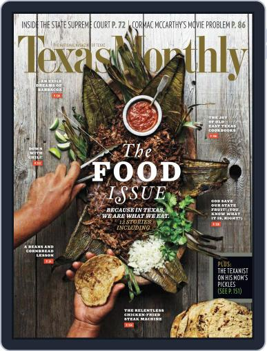 Texas Monthly (Digital) November 21st, 2013 Issue Cover